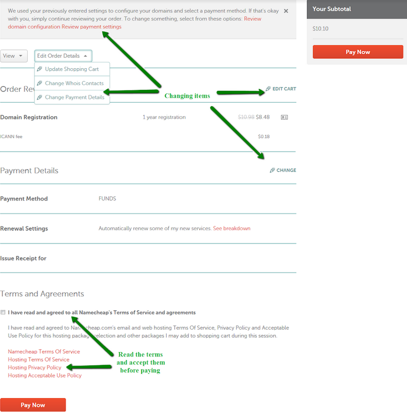 How to register a domain on namecheap for your online petition website